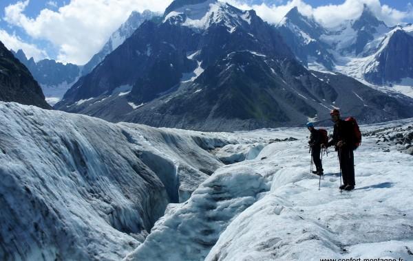 Jardin de Talèfre et Mer de glace