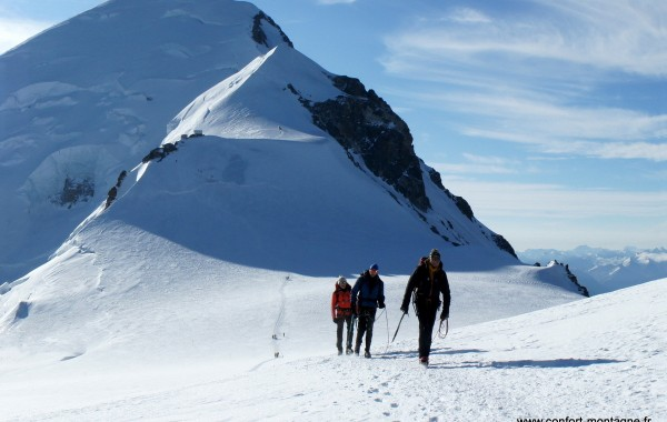 Mont Blanc – 4810 m – 3 J