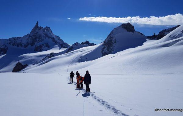 Glacier du Géant & Torino 3J